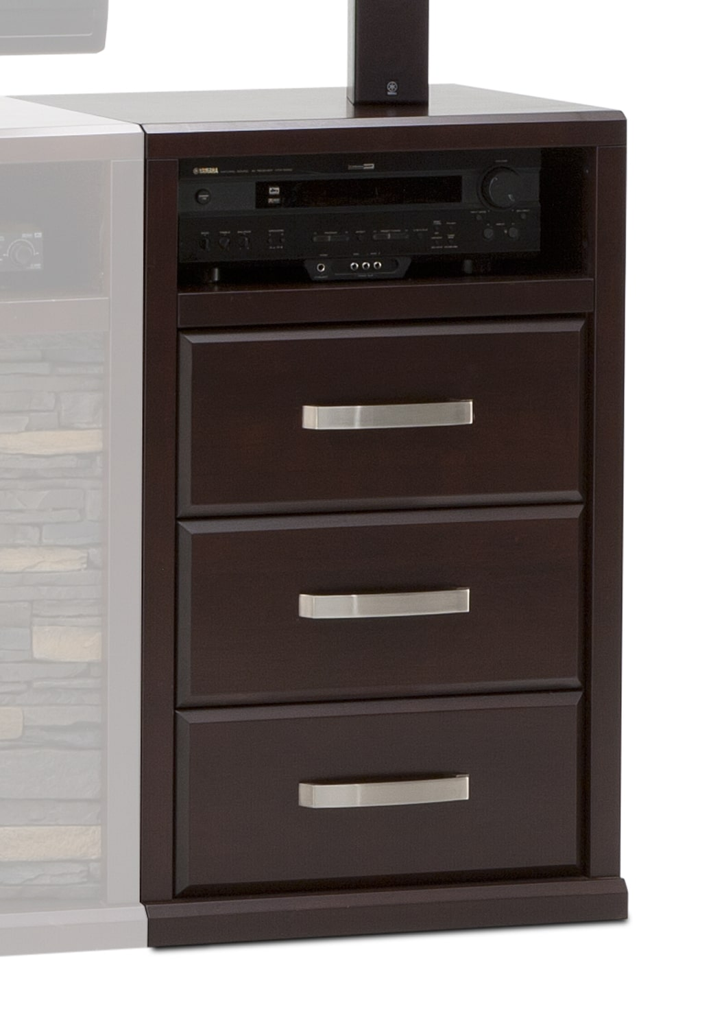 Entertainment Furniture - Gamble Drawer Unit - Bordeaux