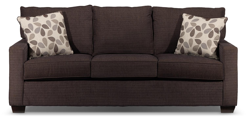 Perkin Sofa Deep Brown Leon S