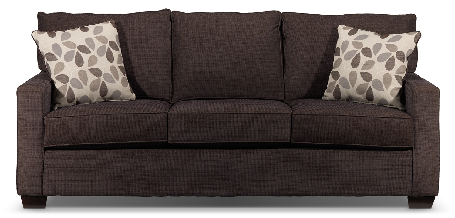 Perkin Sofa Deep Brown Leon S