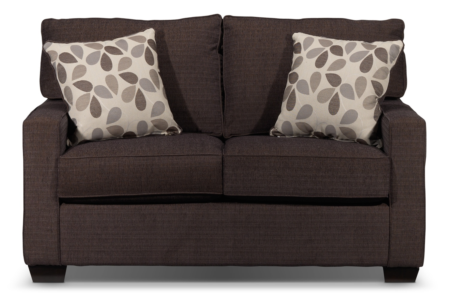 Perkin Loveseat - Deep Brown