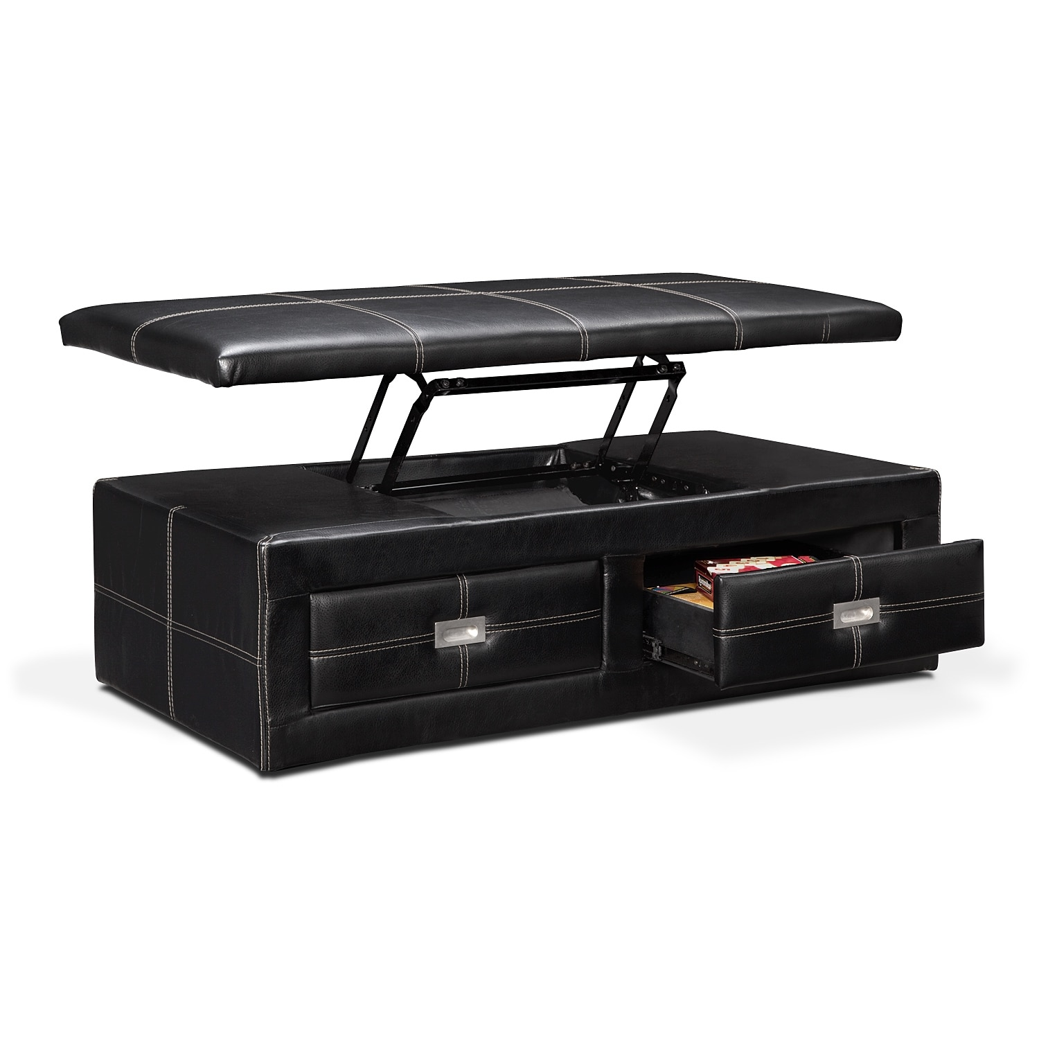 Callihan Accent Pieces Storage Ottoman