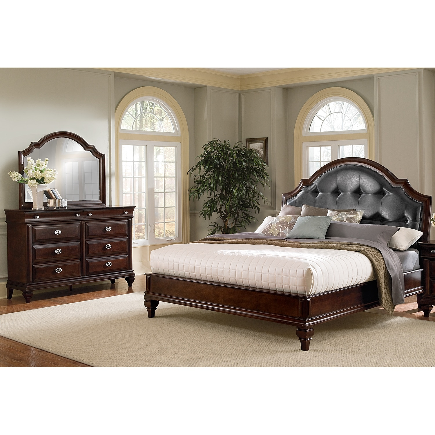 Manhattan King Bed Value City Furniture