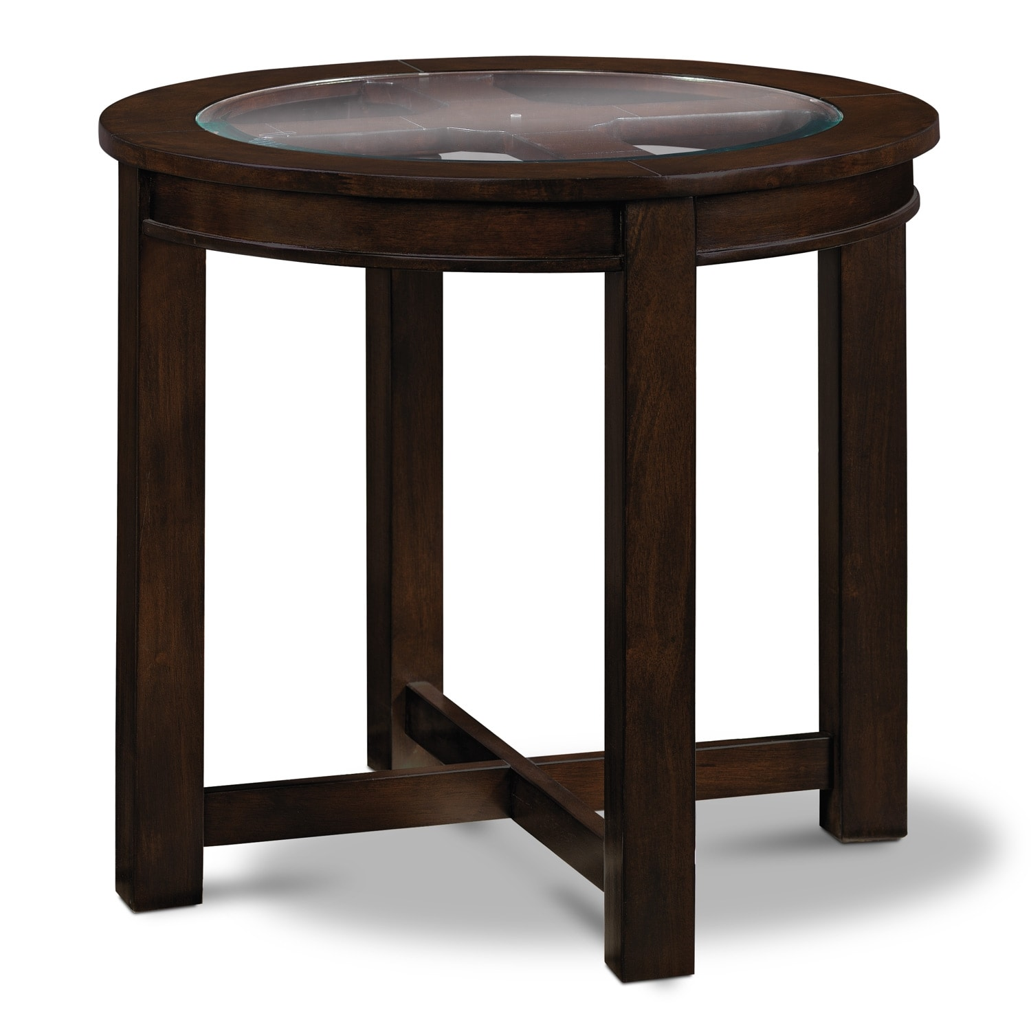 [Four Corners End Table]