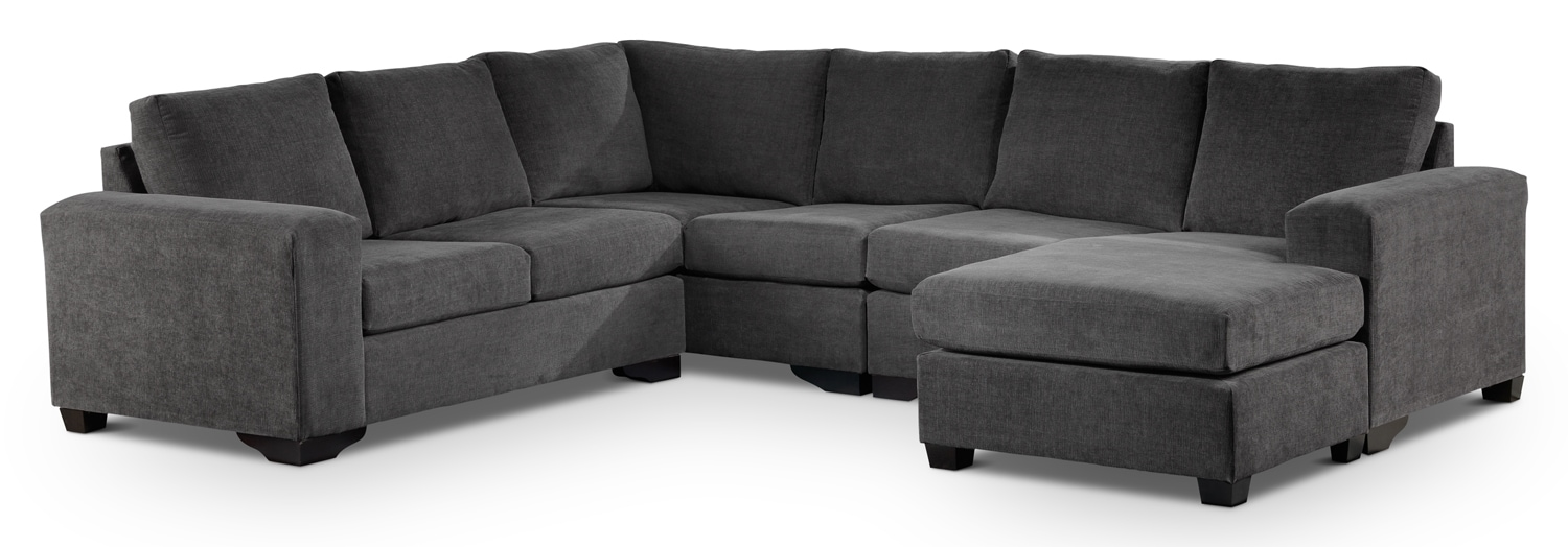 Living Room Furniture - Danielle 3 Pc. Sectional