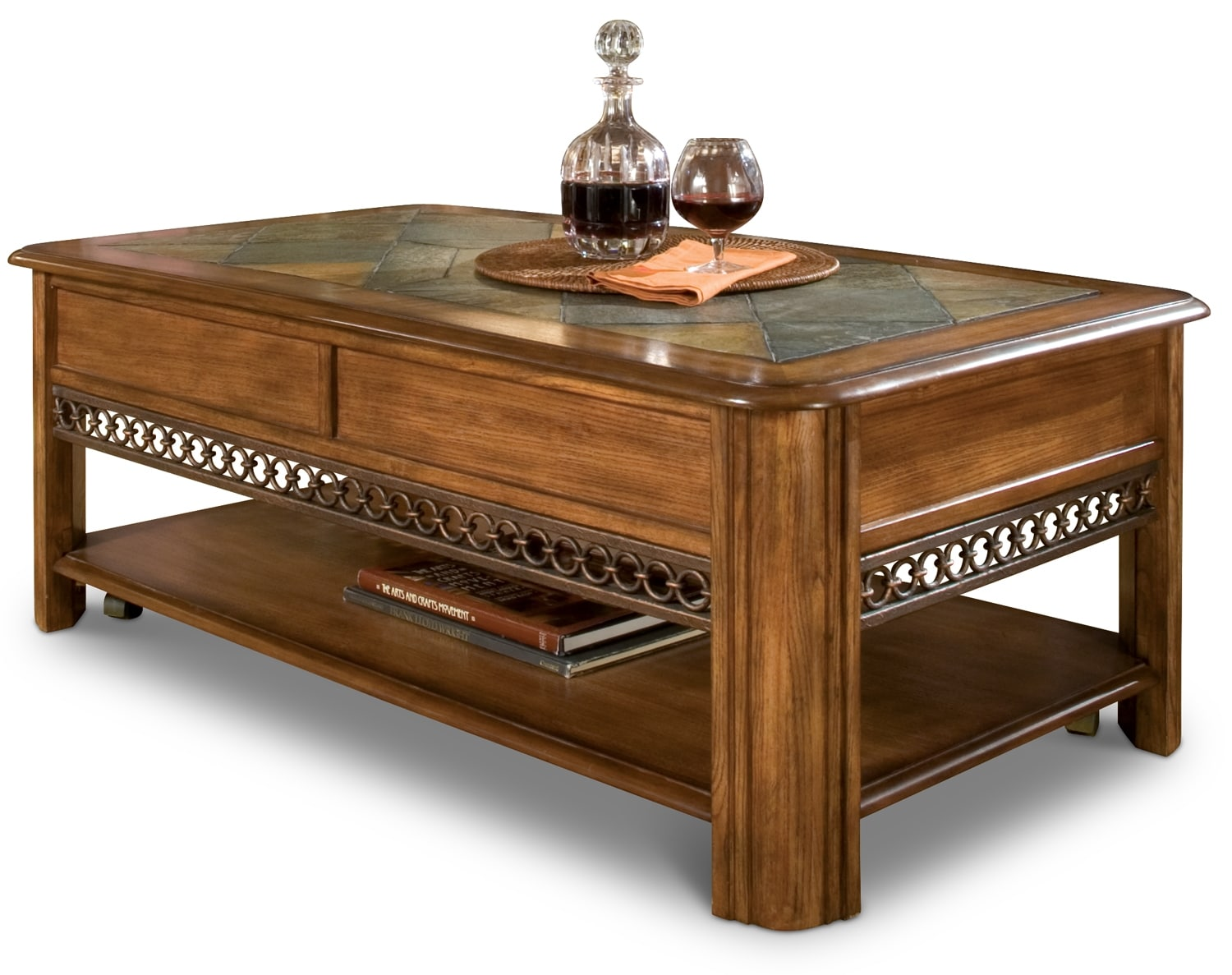 Accent and Occasional Furniture - Madison Lift-Top Coffee Table