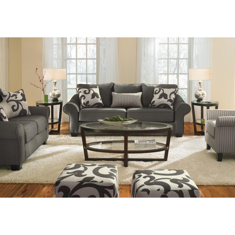 Colette gray sofa value city furniture