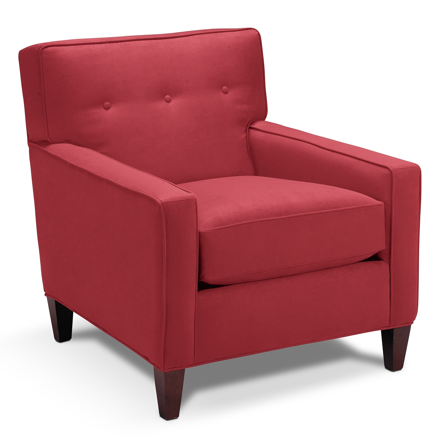 Soho upholstery accent chair value city furniture for Living room chairs