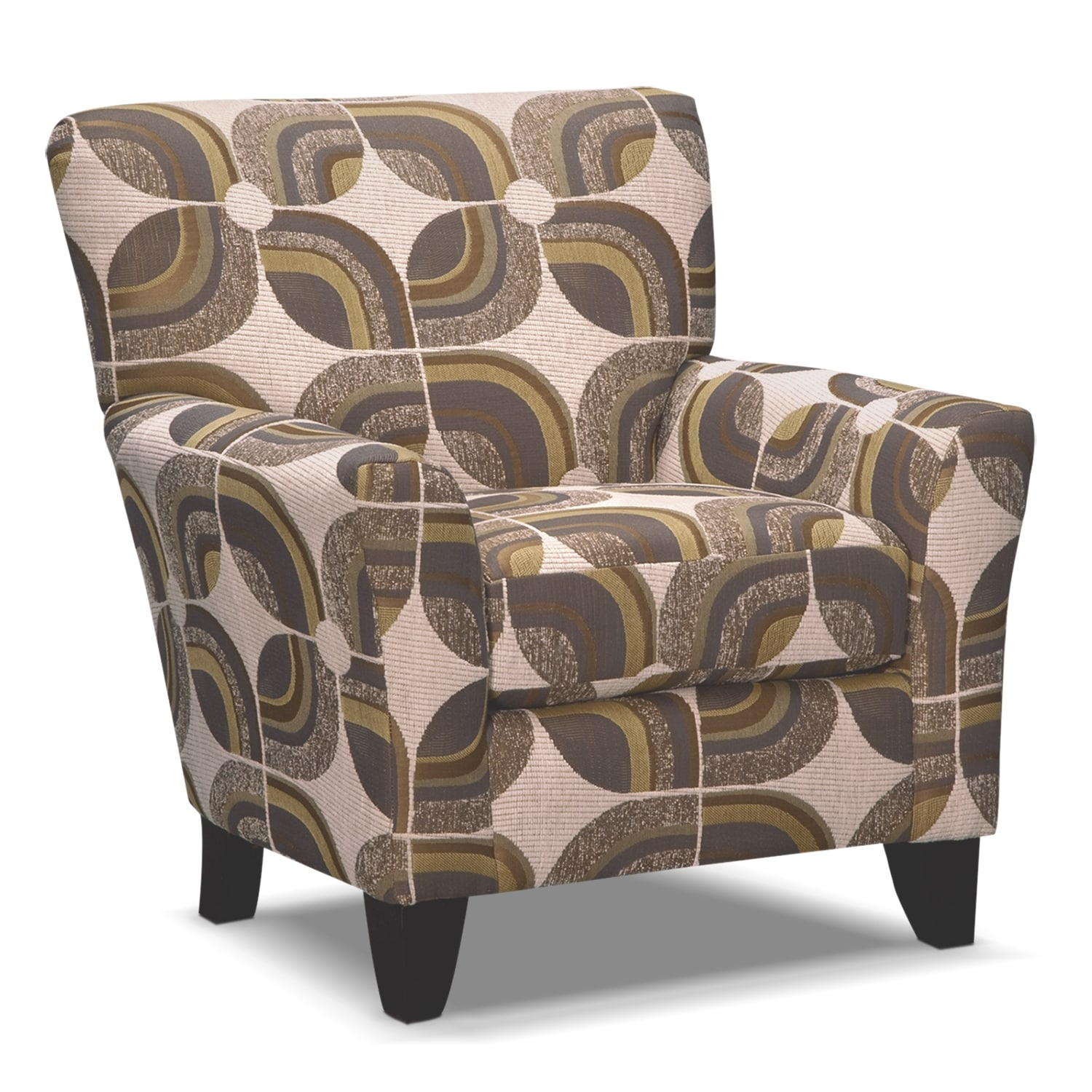 Living Room Furniture - Orleans Cream Accent Chair