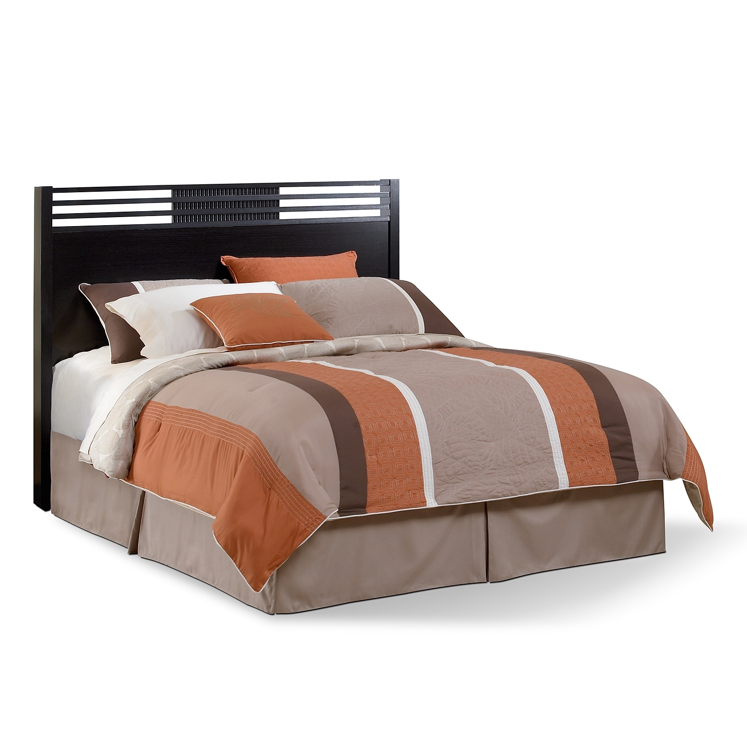 Bedroom Furniture - Kendall Espresso Queen Headboard