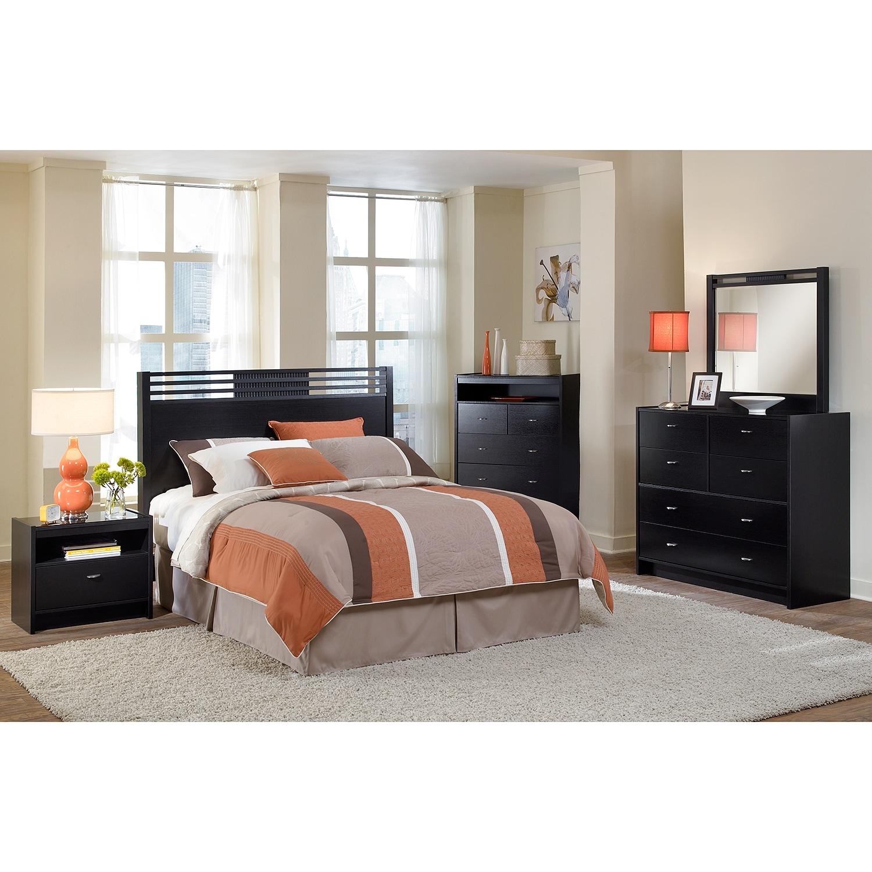 Bally Espresso Bedroom Queen Headboard Value City Furniture