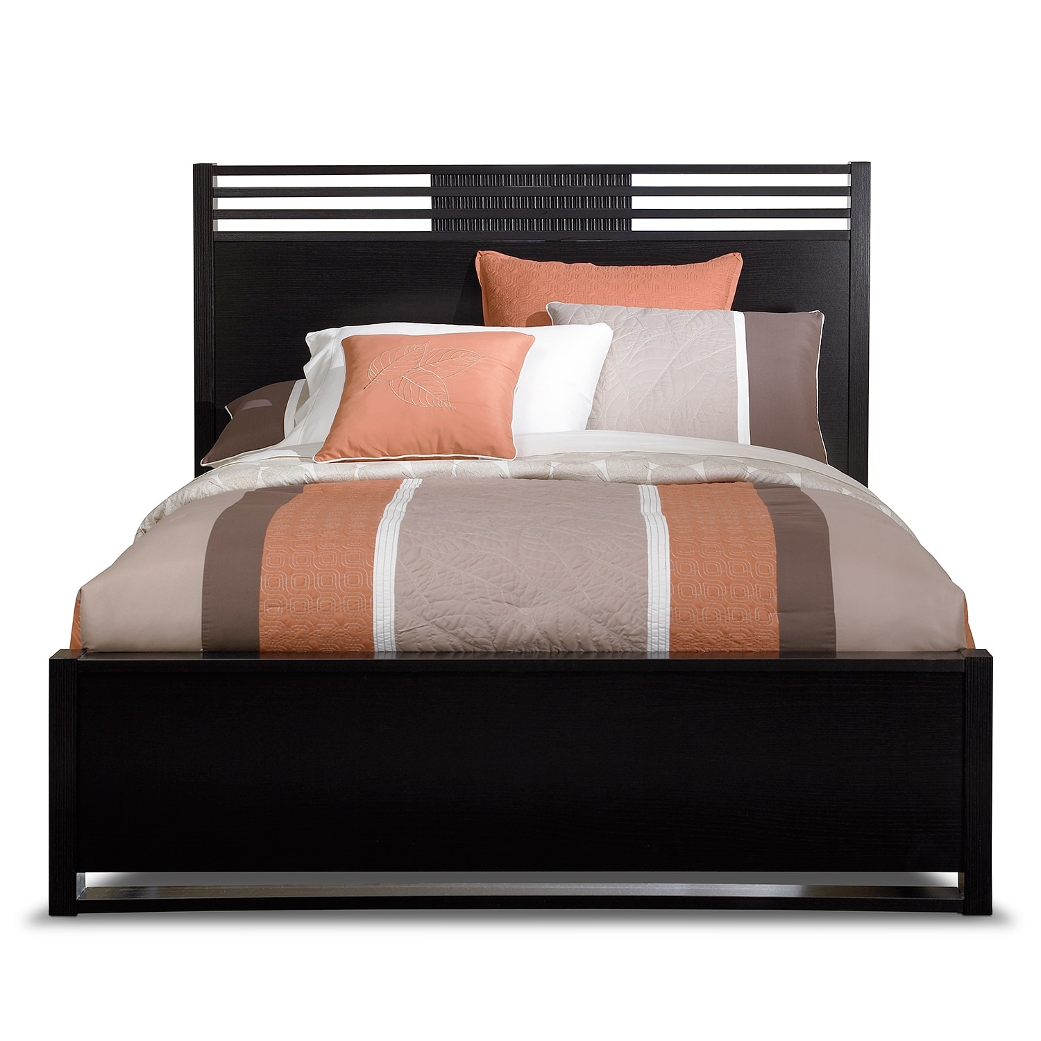 Bally King Bed Espresso Value City Furniture