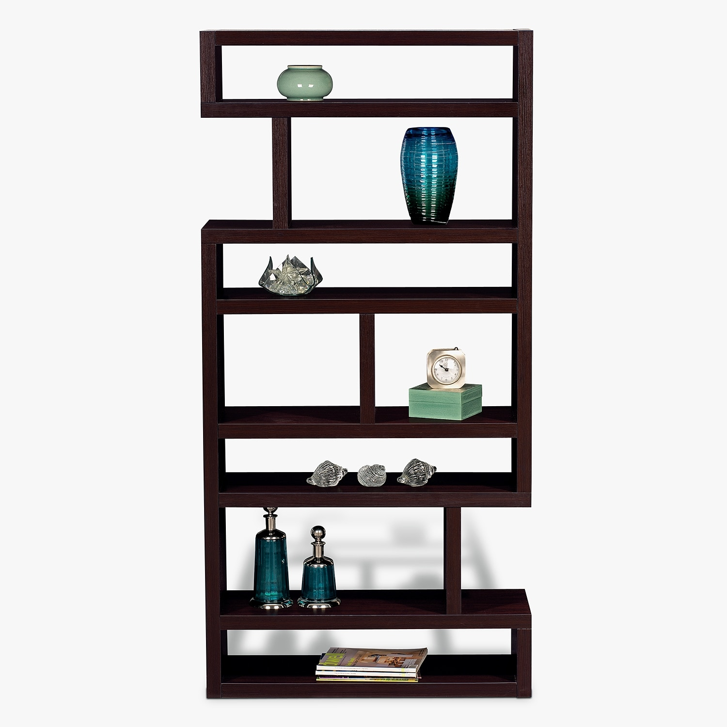 American Signature Furniture - Magma Accent Pieces Large Bookcase