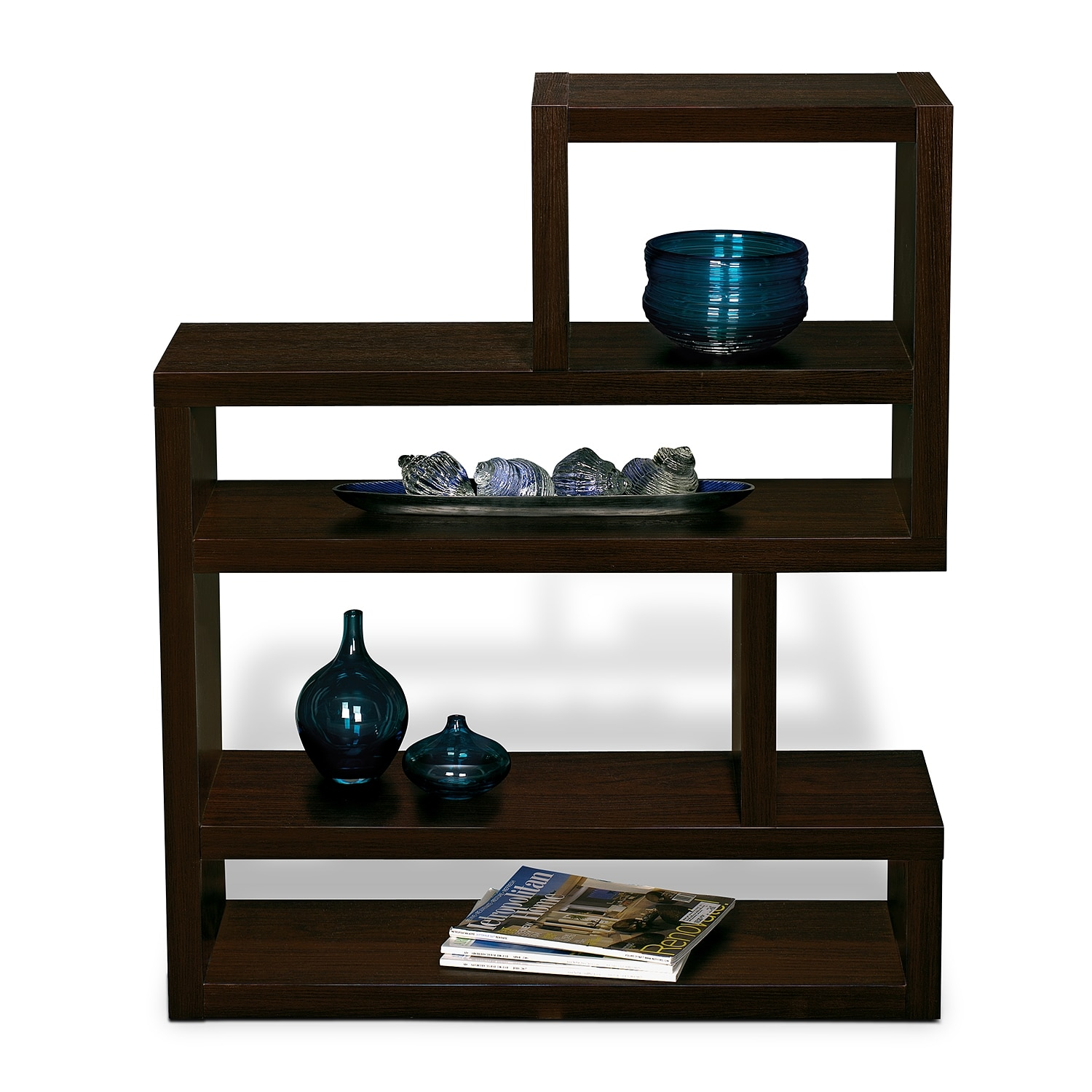 magma accent pieces small bookcase value city furniture small bookcase title=