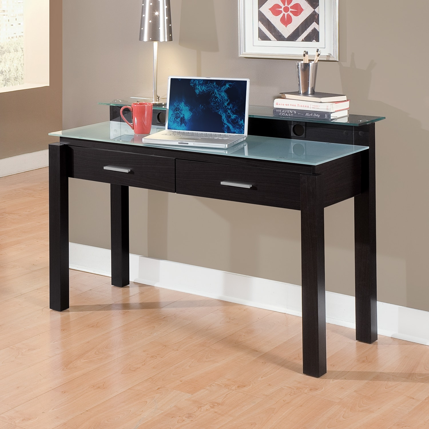 Crescent Desk | American Signature Furniture
