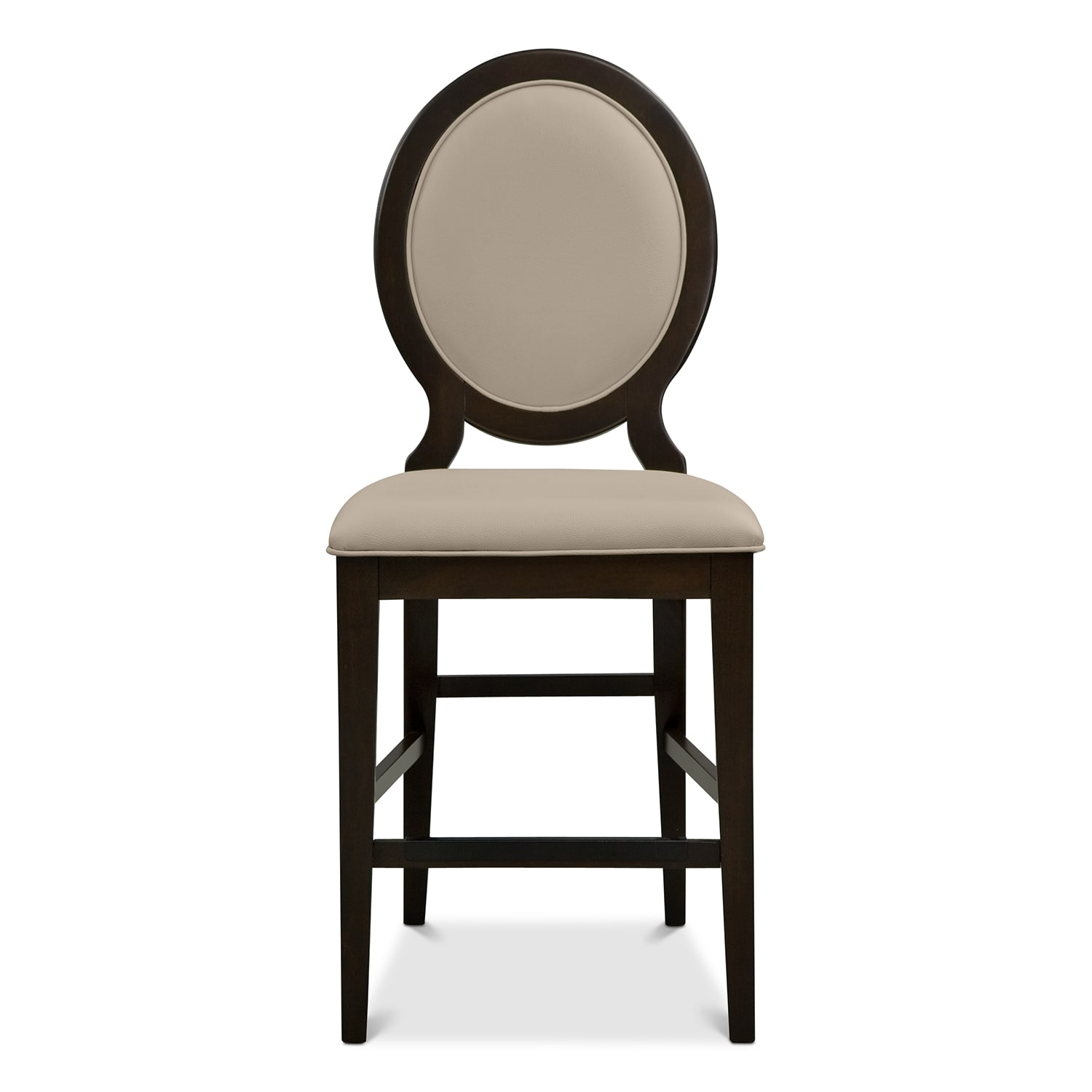 Cosmo Counter Height Stool Merlot Value City Furniture