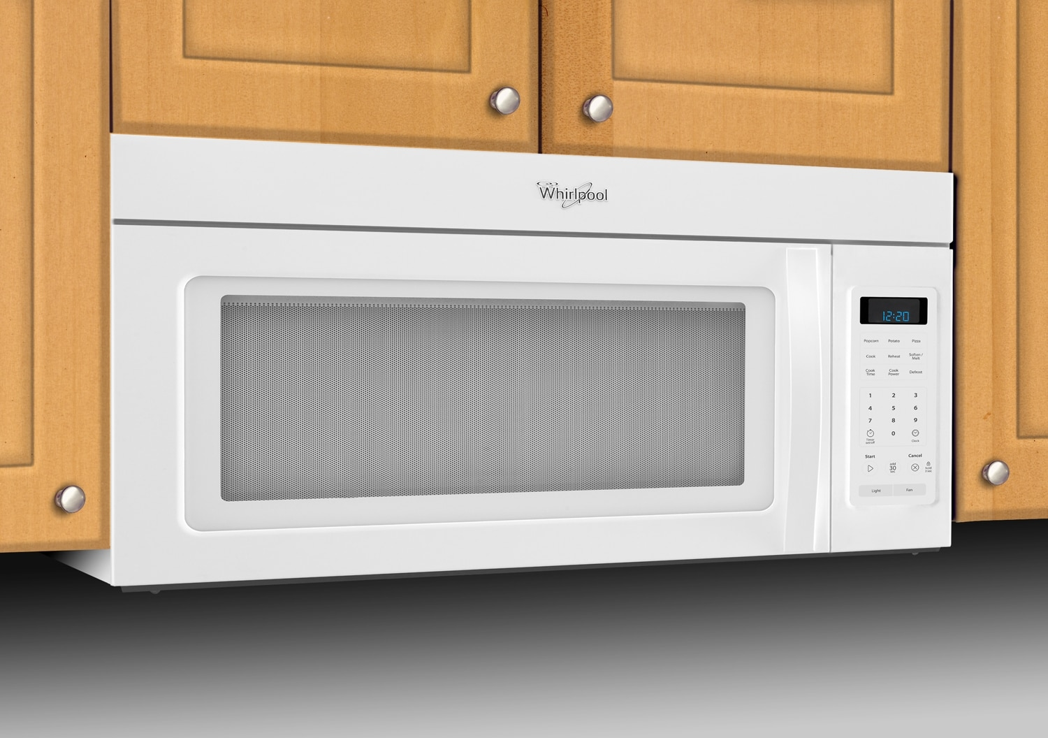 whirlpool over the range microwave dimensions checkwindows. Black Bedroom Furniture Sets. Home Design Ideas
