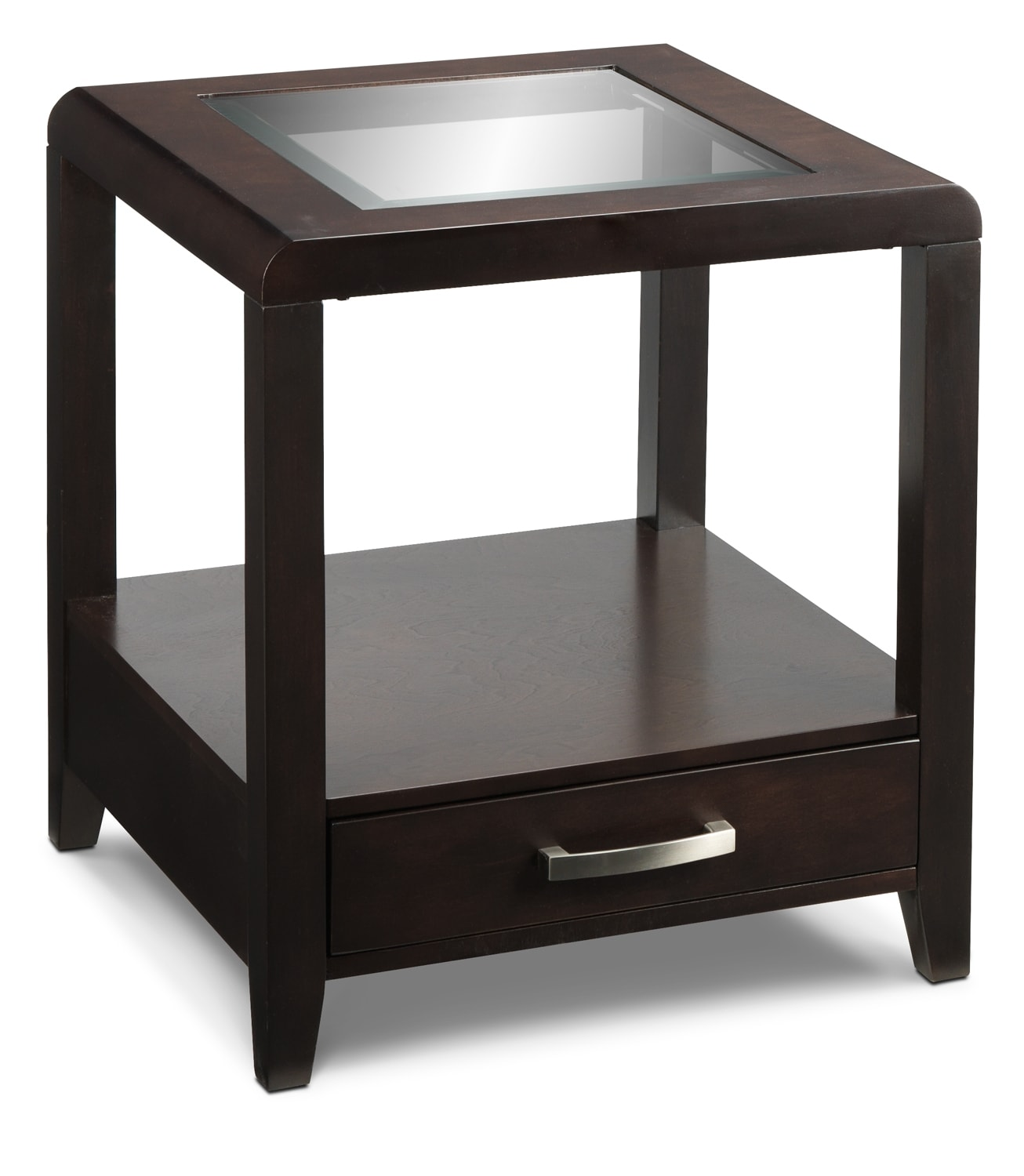 Avery End Table - Espresso