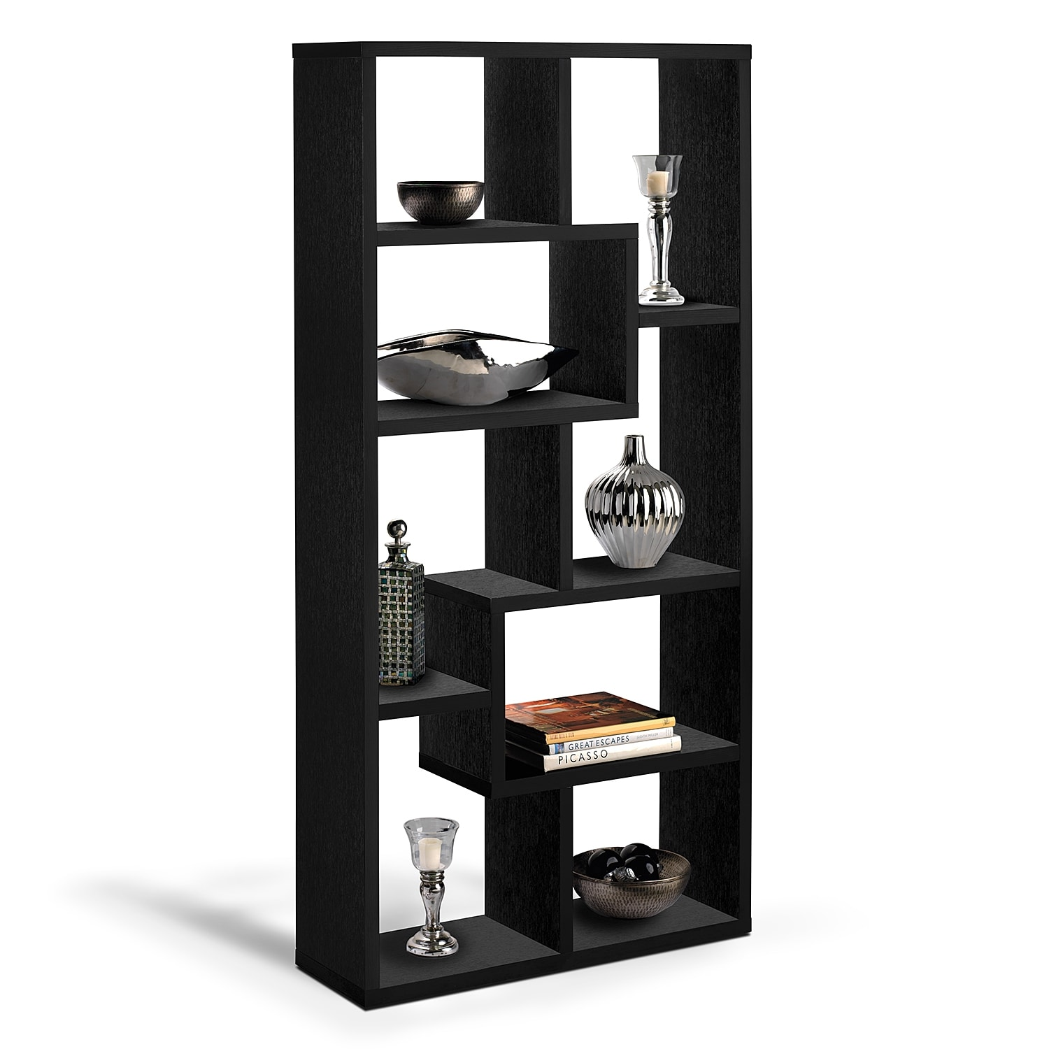 Obsidian Accent Pieces Bookcase - Value City Furniture