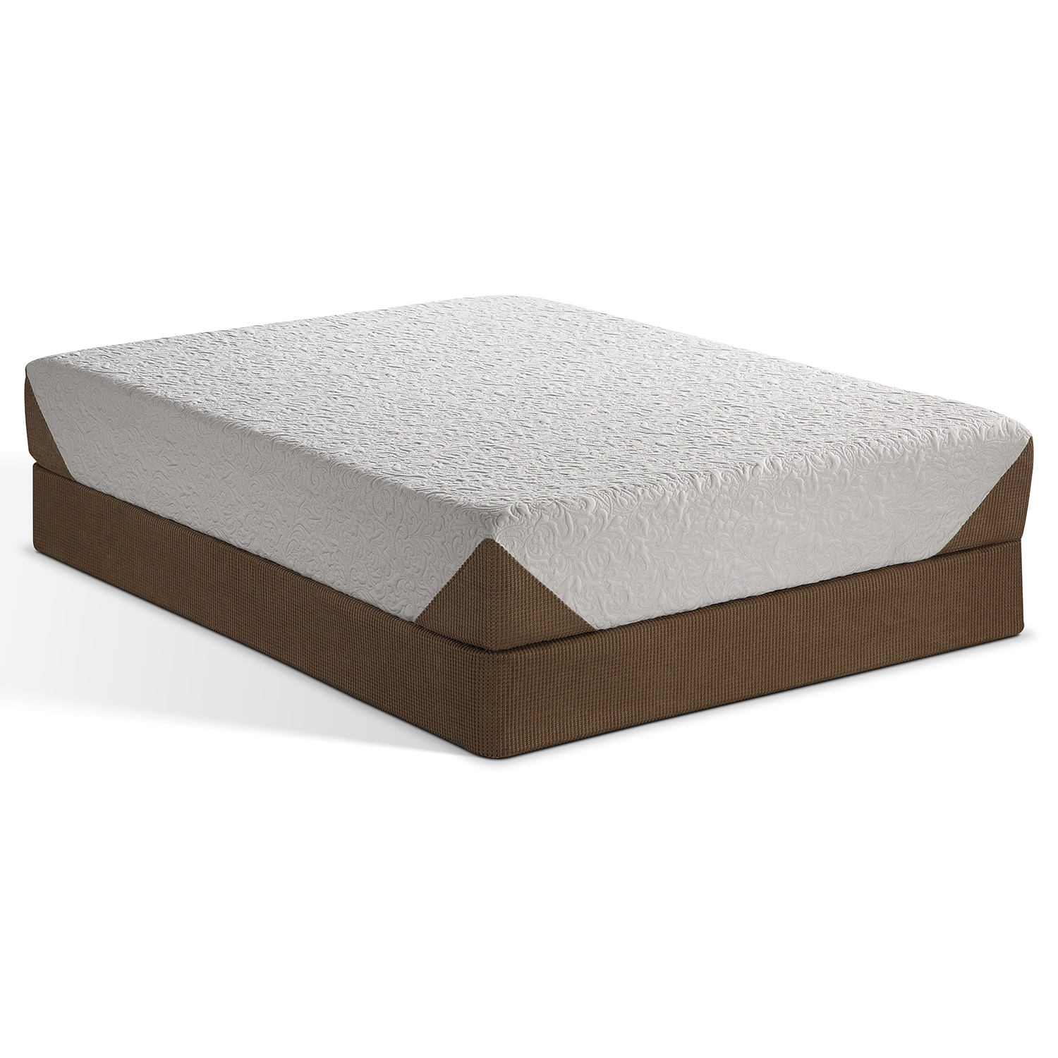 Icomfort queen split flat foundation bed mattress sale Queen mattress sale