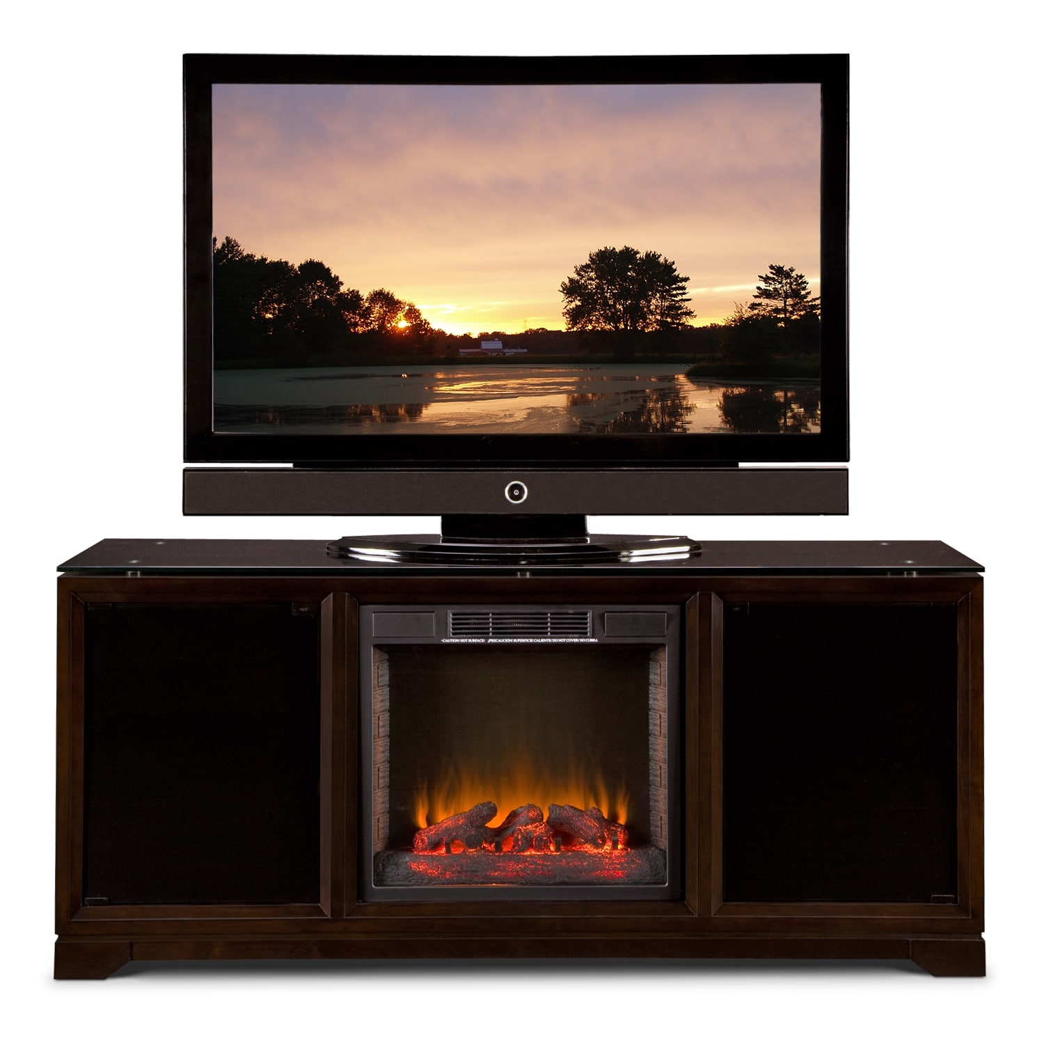 Furniture Tv Stand With Fireplace Moreover Sound Bar With Fireplace Wall Unit Entertainment