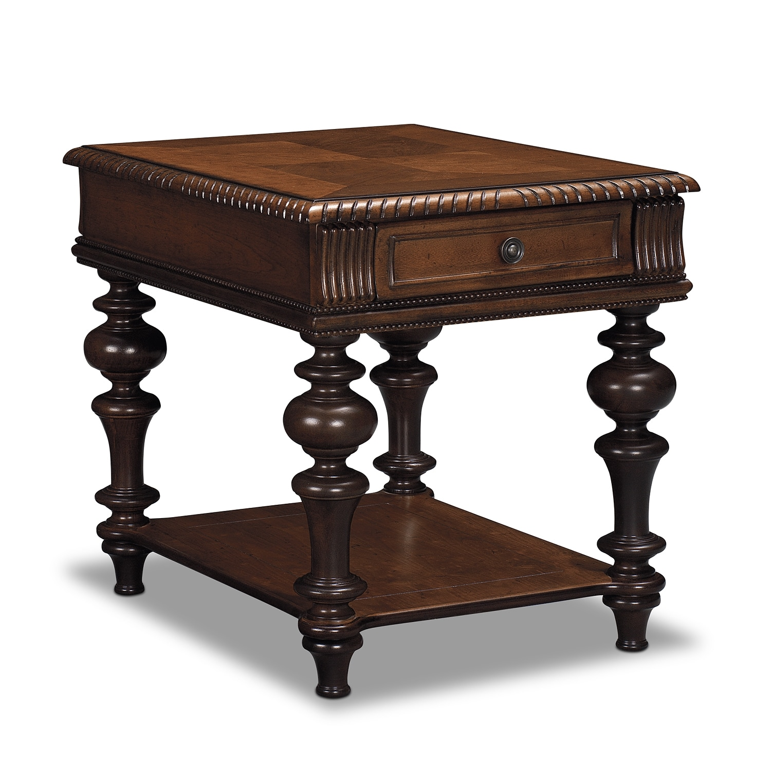 Westham end table value city furniture for Occasional tables