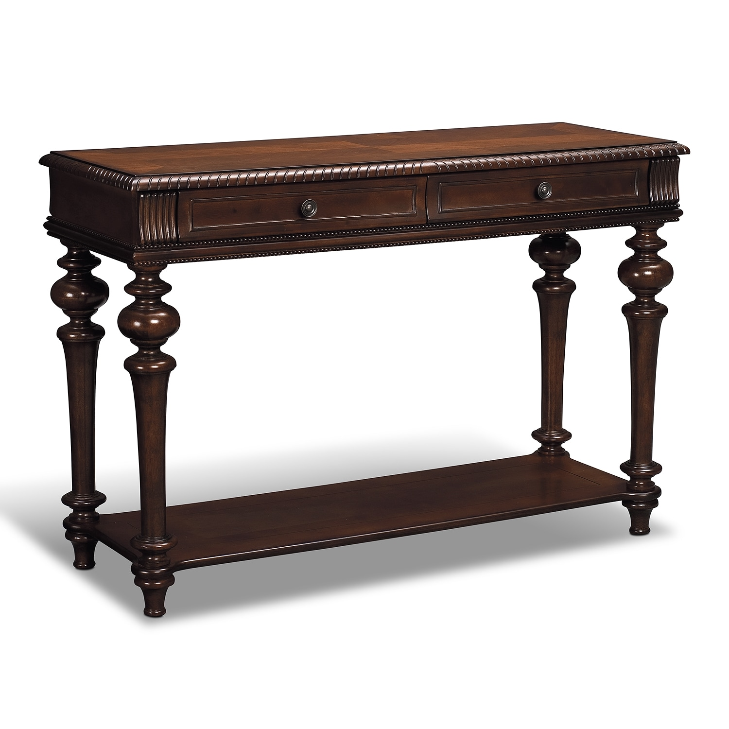 Westham sofa table value city furniture for Occasional furniture