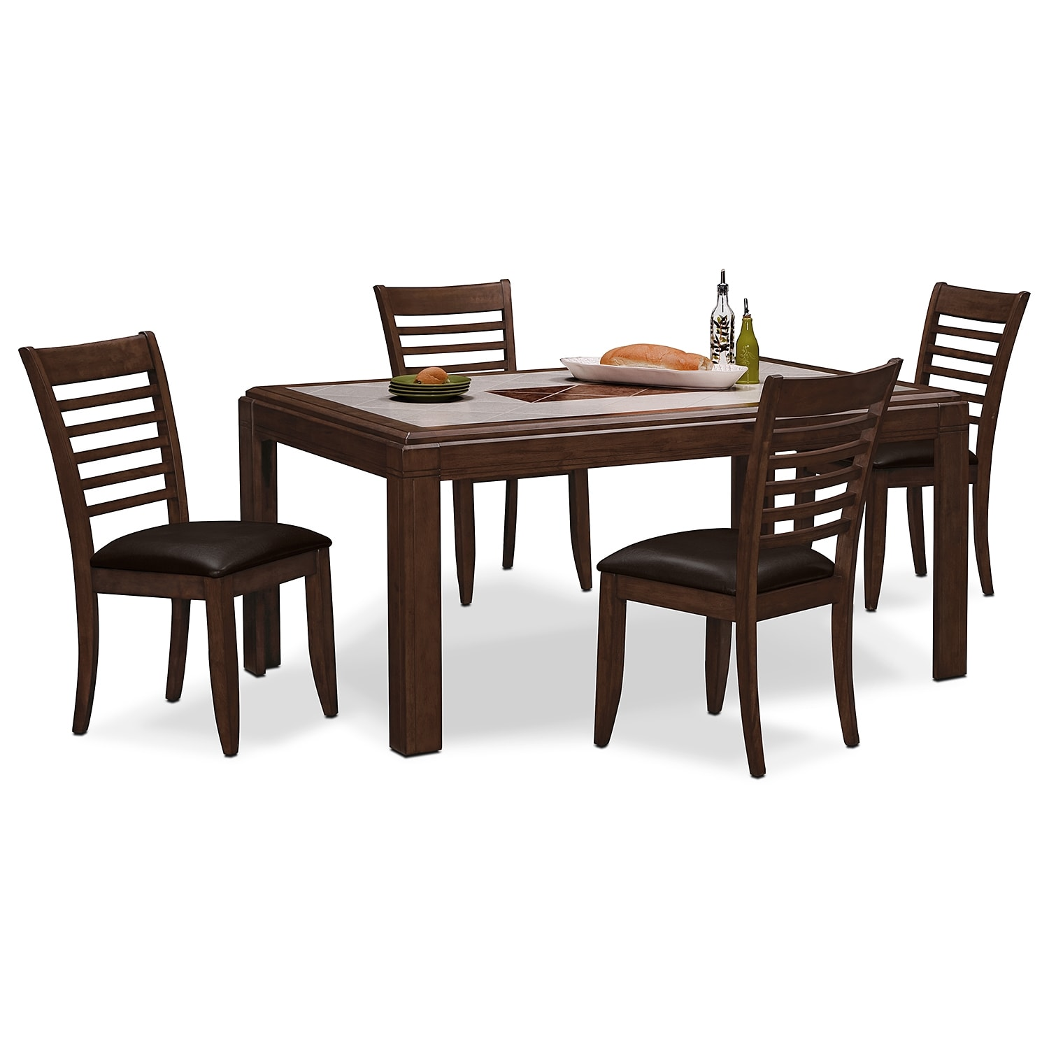 deer creek dining room 5 pc dinette value city furniture