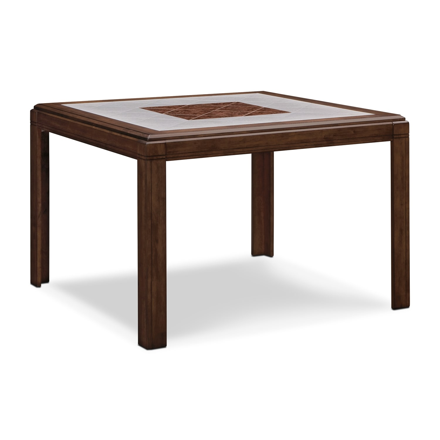 Dining room furniture deer creek ii counter height table - Height dining room table ...