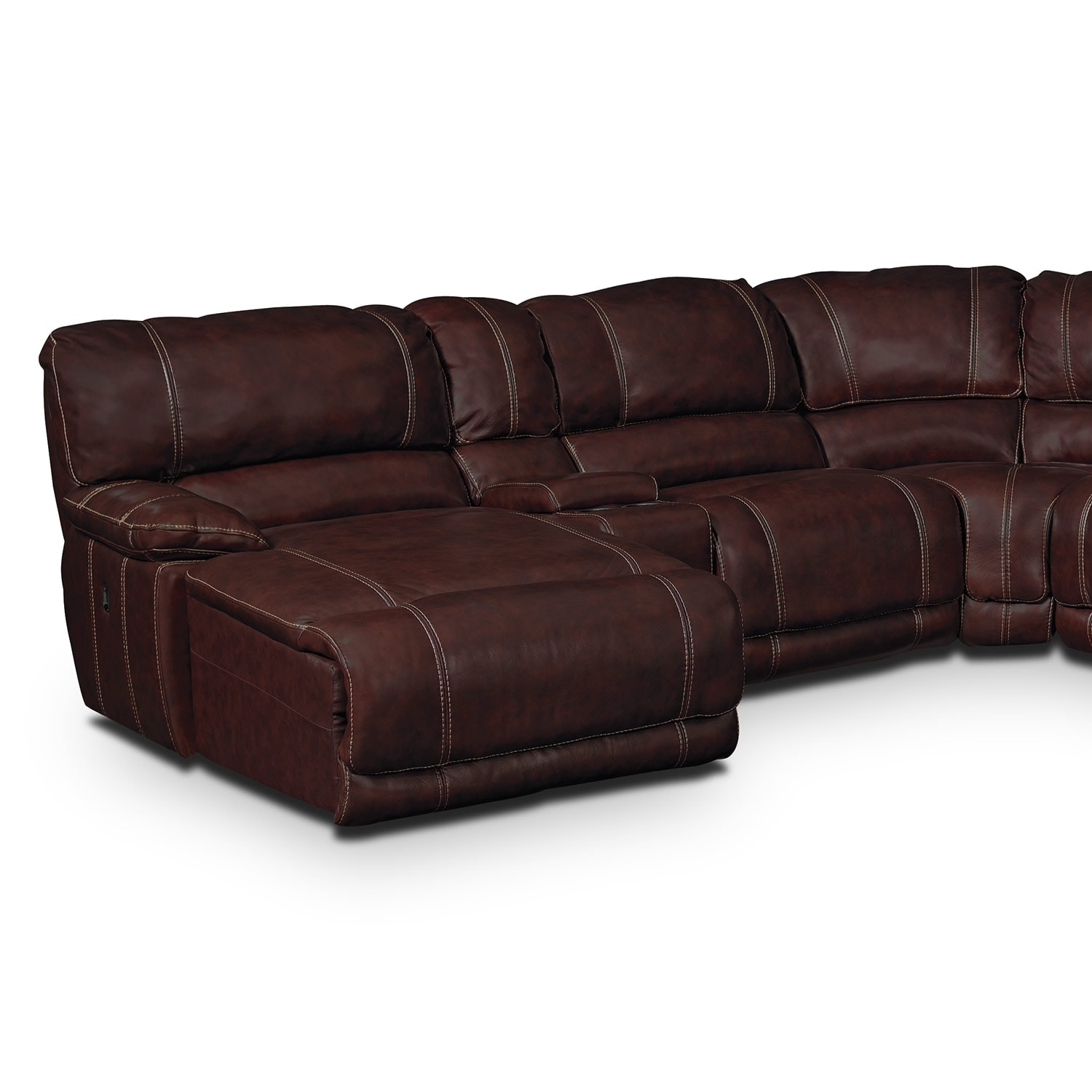 St Malo III Leather 6 Pc Power Reclining Sectional  : 272252 from valuecityfurniture.com size 1500 x 1500 jpeg 342kB