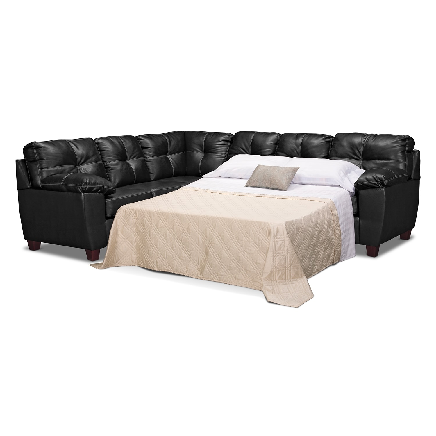 American Signature Furniture Rialto Leather 2 Pc