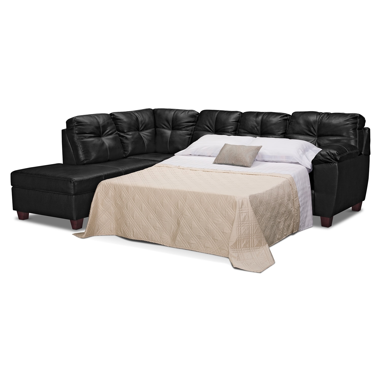 American Signature Furniture Rialto Leather 2 Pc