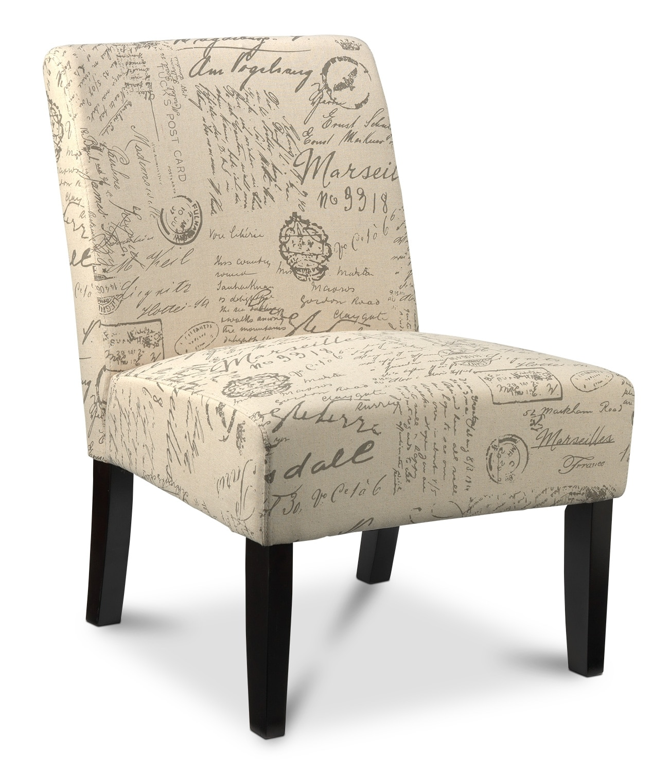 Scroll Upholstery Accent Chair - Leon's