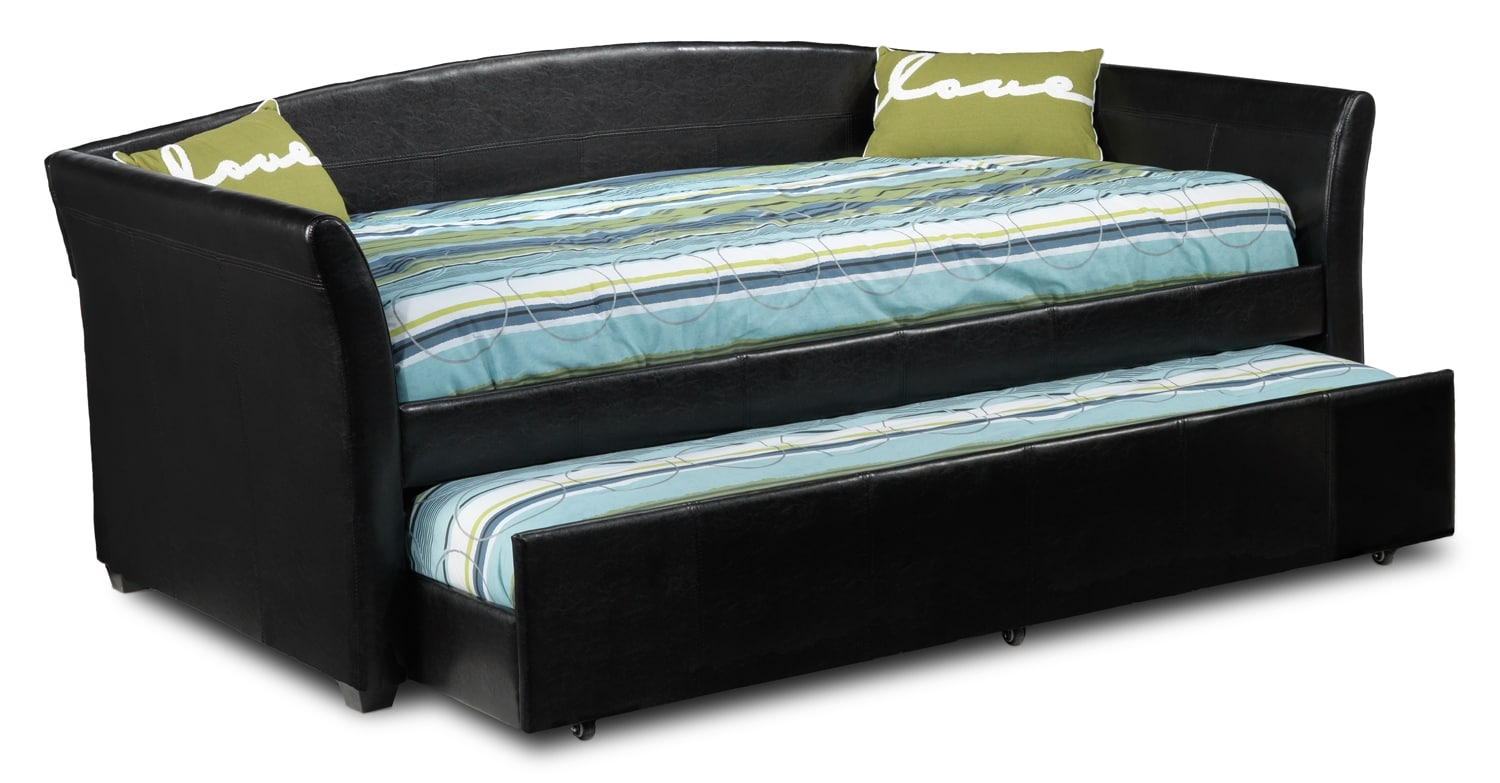 Dixie Daybed with Trundle - Espresso