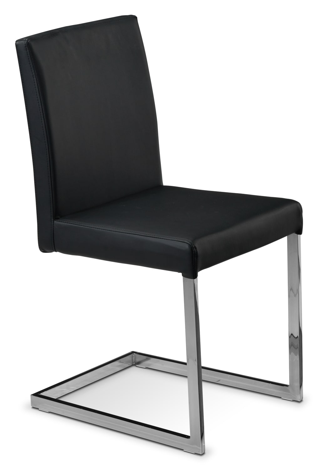 Casual Dining Room Furniture - Elexa Side Chair - Black