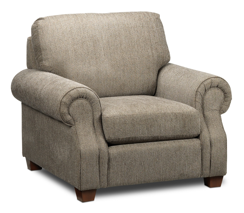 Living Room Furniture - Amara Chair - Beige