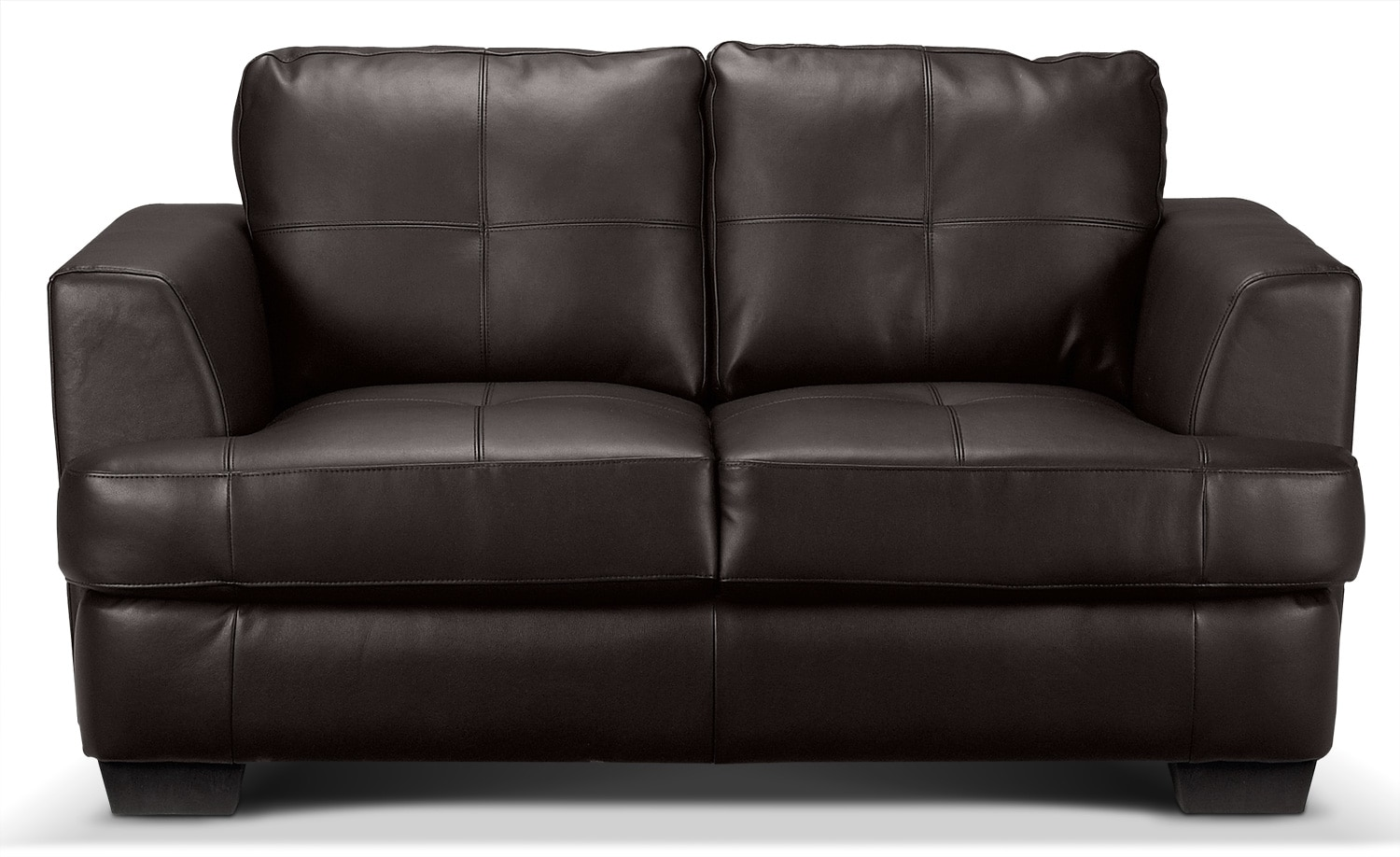 Caitlyn Loveseat - Dark Chocolate