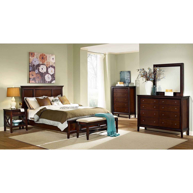 Bedroom Furniture-Urban Living Queen Bed