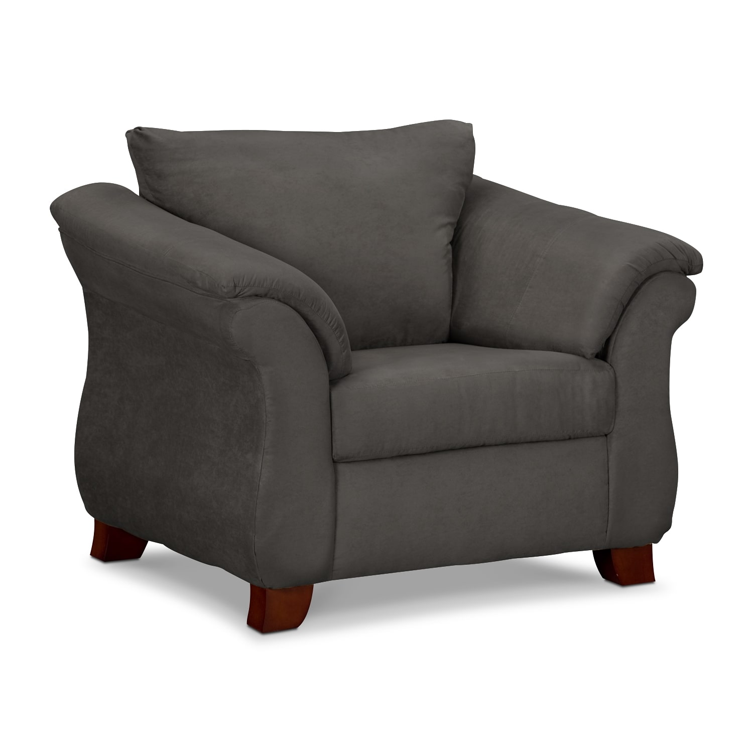 Living Room Furniture - Perry Graphite Chair