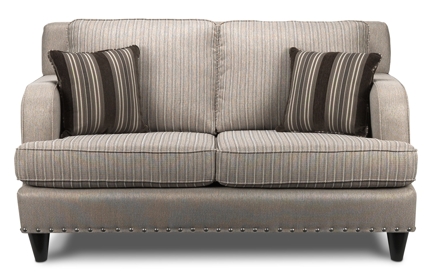 Living Room Furniture - Marielle Loveseat - Light Brown