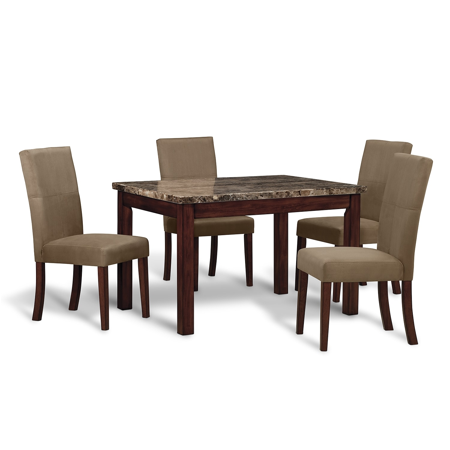 dining room furniture cornerstone 5 pc dinette