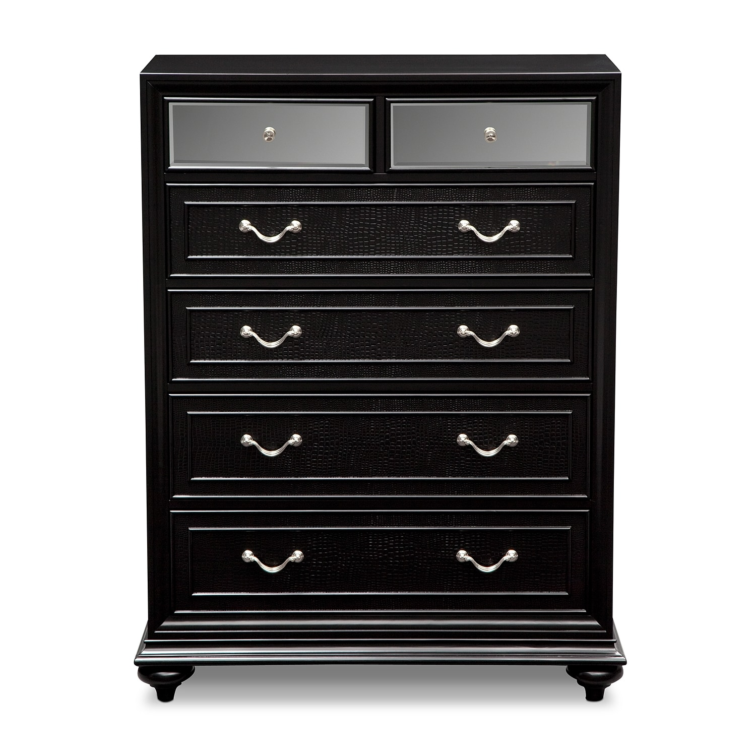 Marilyn Drawer Chest Ebony American Signature Furniture