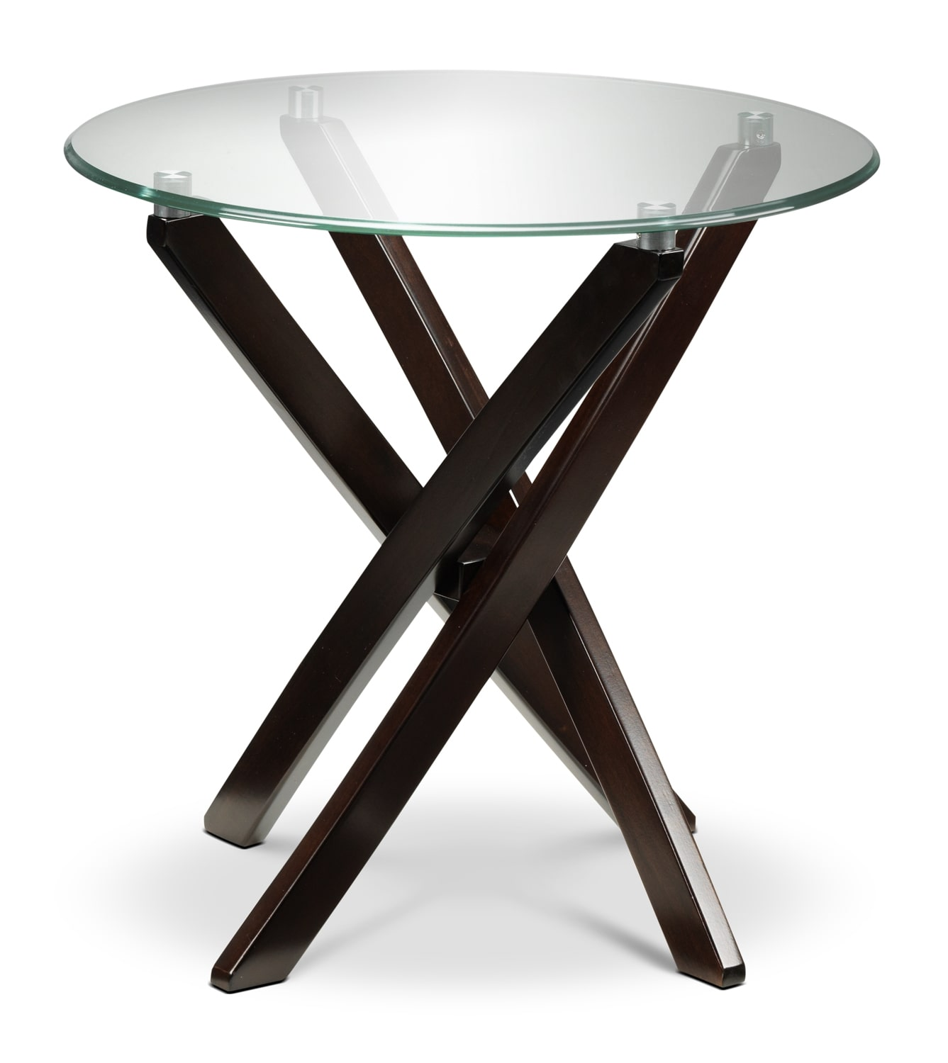 Xenia End Table - Espresso