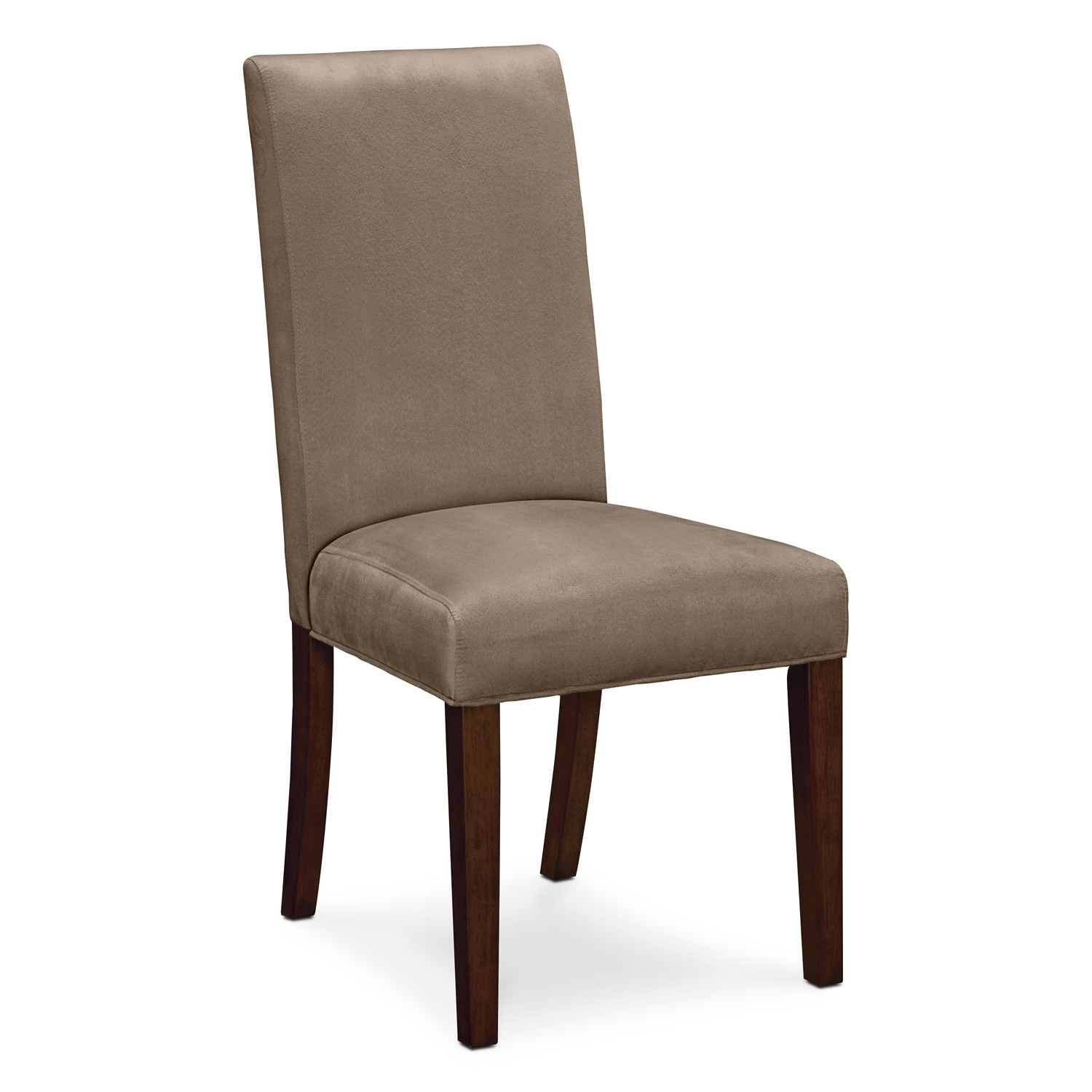Alcove beige dining room chair value city furniture for Furniture furniture