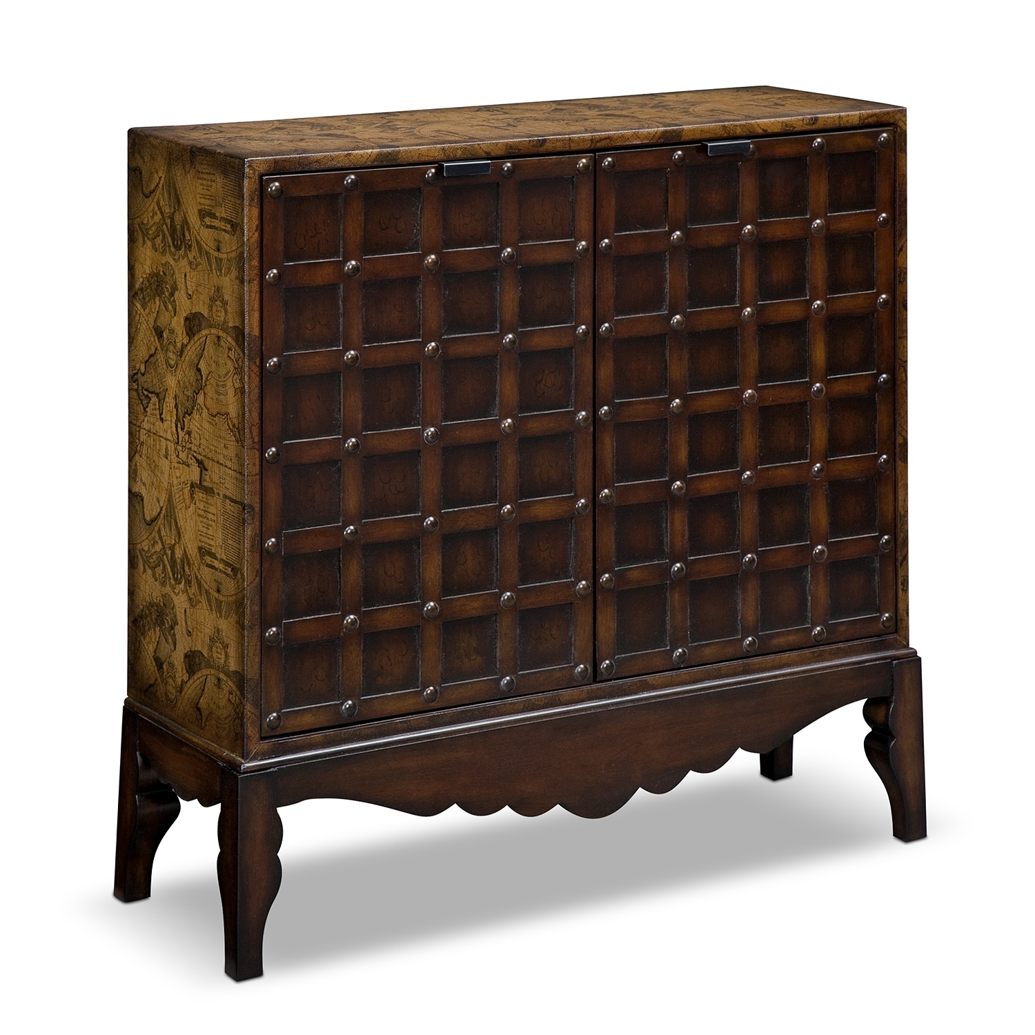 Oliver accent pieces accent chest value city furniture for Accent furniture