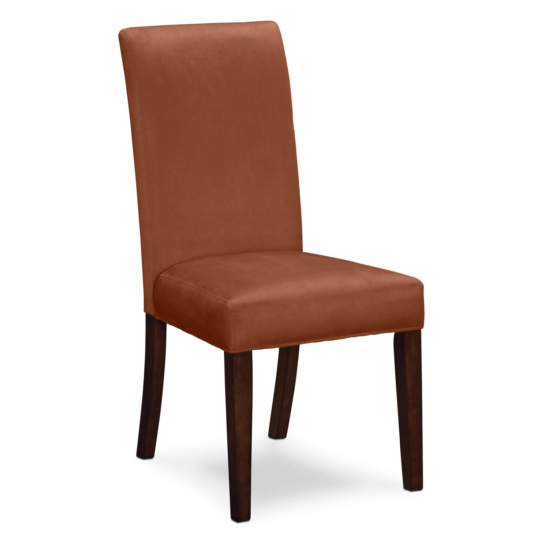 alcove orange dining room 5 pc dinette value city furniture