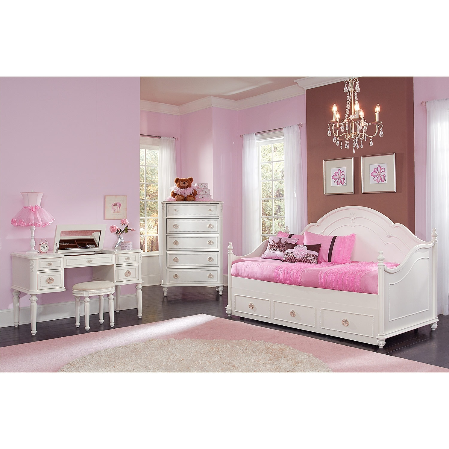 American signature furniture for Bedroom sets with mattress included