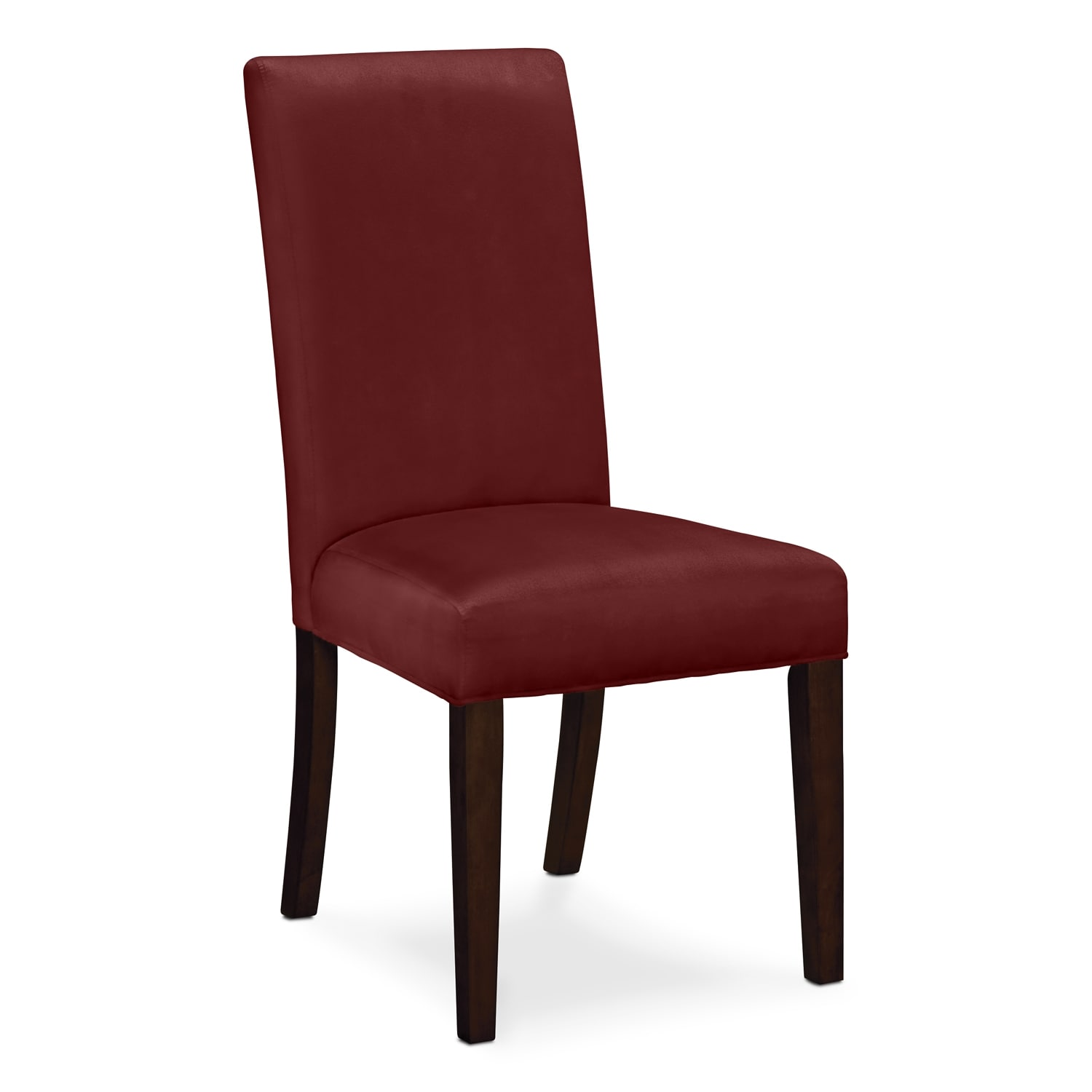 alcove red dining room chair value city furniture
