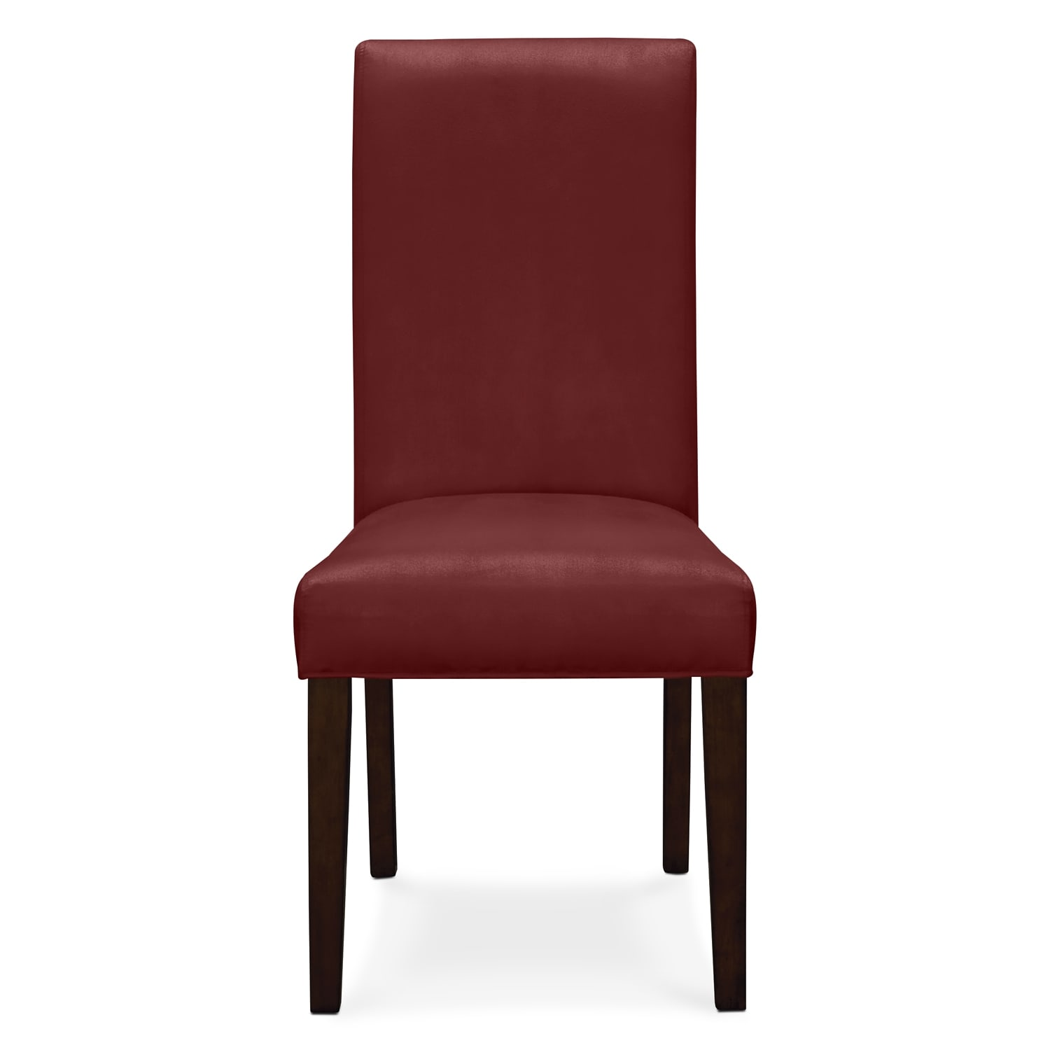 dining room furniture alcove red chair