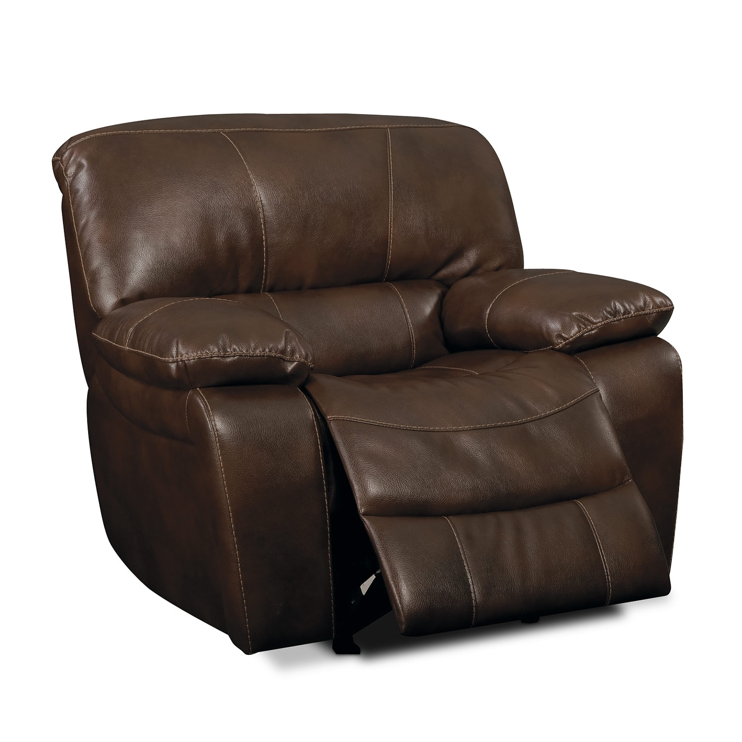 Grove Park Ii Leather Glider Recliner Value City Furniture