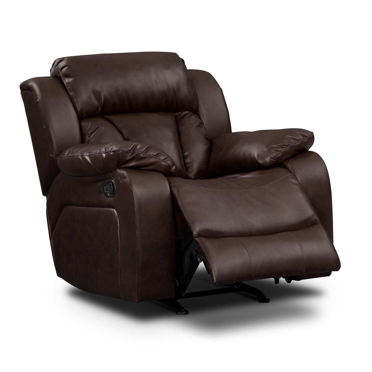 Maverick Leather Rocker Recliner Value City Furniture